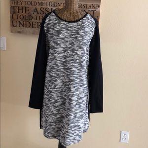 NWT Gap Tweed Black Dress XS S